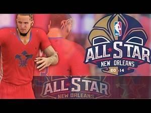 NBA 2K14 PS4 All Star Game: I Put Wall On WORLDSTAR !