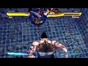 Street Fighter x Tekken PC DLC Lei & Christie Super/Cross Art
