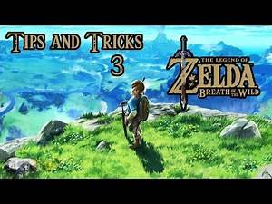 Tips and Tricks 3 - The Legend of Zelda Breath of the Wild