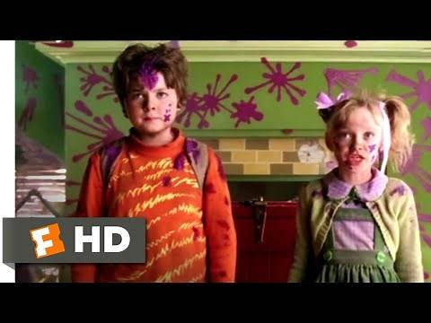 The Cat in the Hat (2003) - Kicking Out The Cat Scene (9/10) | Movieclips
