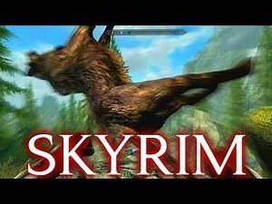 FLYING DOG ADVENTURES | Skyrim ENEMY WEAPONS ONLY Challenge Gameplay [Remastered Edition]