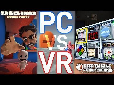 Local Multiplayer VR Games - The Best Asymmetrical VR Games