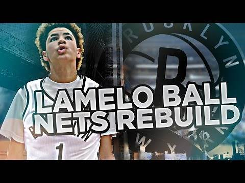 DRAFTING LAMELO BALL!! REBUILDING THE NETS!! NBA 2K17 MY LEAGUE