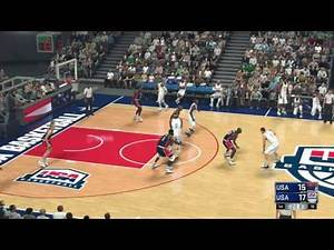 NBA 2k17 - Dream Team vs Team USA 2016 | Full Game (1080p 60fps)
