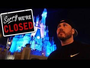 DISNEY WORLD CLOSED AND I STAYED (ALL ALONE)
