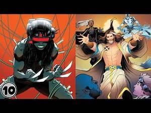 Top 10 Marvel Comics Superheroes and Super Villains | Marathon