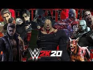 WWE 2K20 | RESIDENT EVIL FIRST BLOOD MATCH