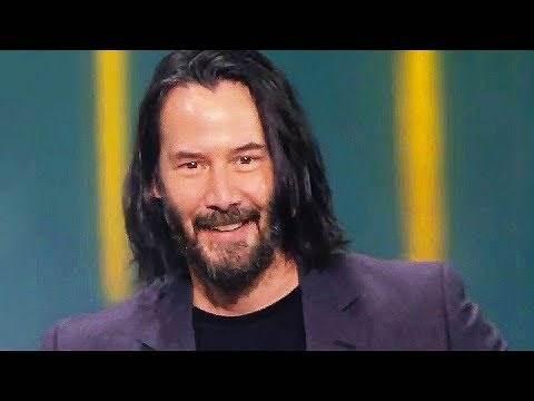 "KEANU REEVES says ""You're breathtaking"" (E3 2019, Cyberpunk 2077)"