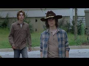 TWD S6E7 - Morgan asks Denise to check on Owen | Ron sneaks up behind Carl