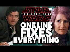 How ONE LINE Fixes The Last Jedi
