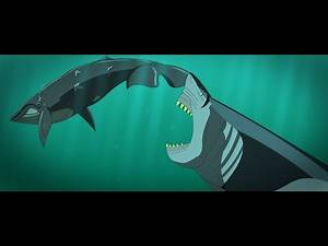WHALE SLAYER | Megalodon Animation