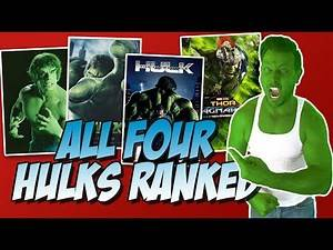 All Four Hulks Ranked Worst to Best (The Incredible Hulk (1978) to Thor: Ragnarok)