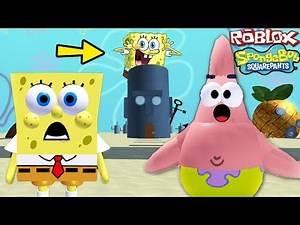 """SPONGEBOB SQUAREPANTS FULL MOVIE GAME"" (Spongebob in Roblox, Roblox Spongebob Kids Games)"