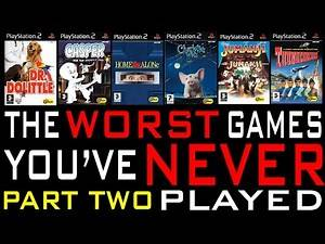 The Worst Games You've Never Played #5 (Part 2)