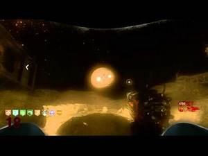"Black Ops Zombies ""Moon"" Big Bang Theory Ending Secret Achievement Easter Egg 1080p"