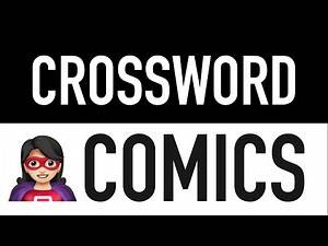 Crossword Puzzles with Answers #7 (15 Comic Book Trivia Quiz Questions) | Word Games to Play