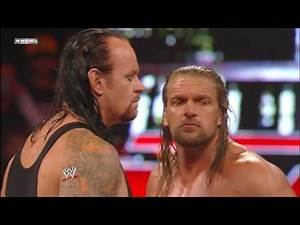 Undertaker , John Cena vs triple h , big show fight