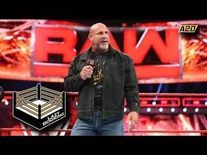 Goldberg Joins 2018 WWE Hall of Fame | Lazy Booking