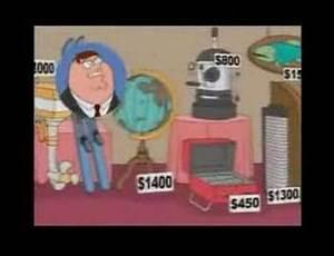 Family Guy - Wheel of fortune