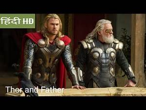 Thor.The Dark World :ASGARD First look or thor OR father Talk scene in Hindi movie clips