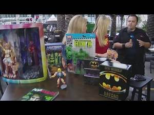 Toys, toys and more toys! Check out the must haves at Comic Con 2019