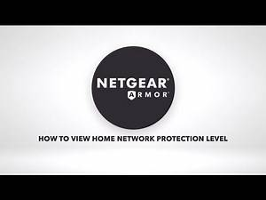 How to View Protection Level in the Nighthawk App & Orbi App | NETGEAR Armor