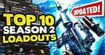 *NEW* TOP 10 BEST Loadouts in Warzone Season 2 Reloaded!   Call of Duty Best Class Setups