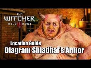 The Witcher 3 Wild Hunt Diagram Shiadhal's Armor - Location Guide l Kill Allgod