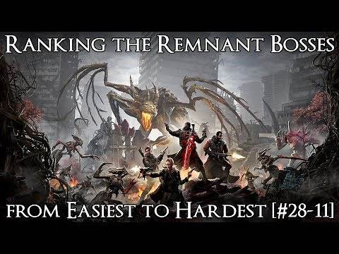 Ranking the Remnant: From the Ashes Bosses from Easiest to Hardest