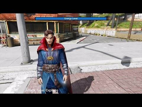 HOW TO INSTALL Doctor Strange MOD AND POWERS
