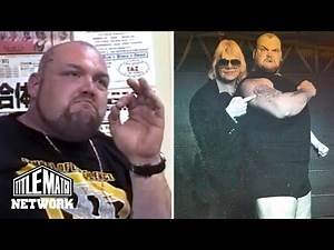 Bam Bam Bigelow - What Happened with Larry Sharpe & Dennis Coralluzzo in Memphis Wrestling