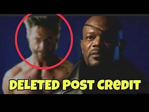 Iron man Wolverine And Spiderman Deleted Post credit Scene