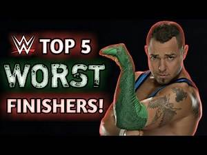 WWE Top 5 : Worst Wrestling Finishers Of All Time