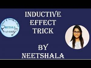 Inductive effect TRICK To easy learning