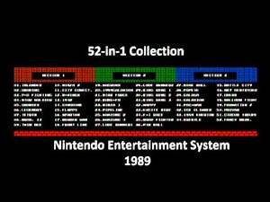 52 in 1 Collection (NES) Music - Mario Bros Game Over