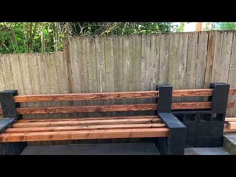 OSL TV| DIY Cinder Block Sectional| Patio Makeover PT.1
