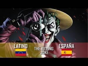 The Killing Joke Escena final - Español Latino vs Castellano