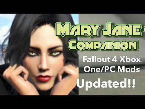 Mary Jane Companion*Updated* Fallout 4 Xbox One/PC Mods