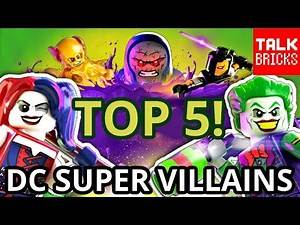 LEGO DC SUPER VILLAINS GAME ANNOUNCED! TOP 5 Things You Need to Know! Lex Luthor Superman Minifigure