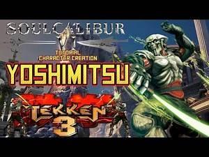 SoulCalibur VI - How to create Yoshimitsu (Tekken 3 Costume) CAS