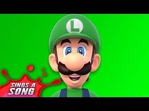 Luigi Sings A Song (Super Mario Video Game Parody)