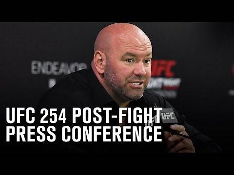 UFC 254: Post-fight Press Conference