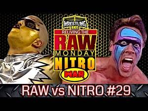 """Raw vs Nitro """"Reliving The War"""": Episode 29 - April 22nd 1996"""