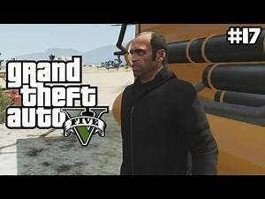 GTA 5 - STEALING GOVERNMENT PROPERTY - (GTA V Lets Play #17)