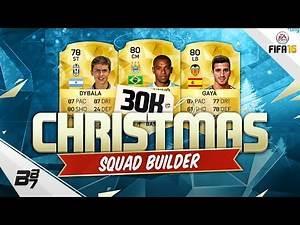 30K CHRISTMAS STARTER SQUAD BUILDER! | FIFA 16