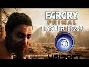 Far Cry Primal - Easter Eggs - Ubisoft Logo As a Cave Painting (Ubisoft) (PC HD) [108060FPS]