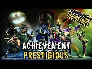 Gotham City Impostors - Achievement - Prestigious (25G)
