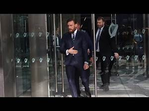 Conor McGregor Presents Himself At Dublin Court For Assault Charge - MMA Fighting
