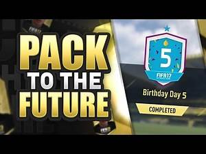 PACK TO THE FUTURE EPISODE 16!!! FIFA 17 Ultimate Team