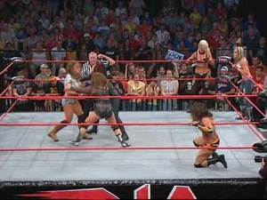 The TNA Wrestling Knockouts In Action